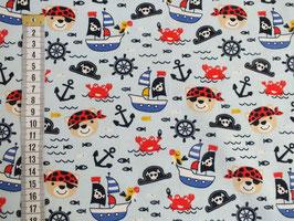 Jerseystoff mit Piraten