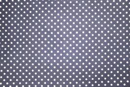Patchworkstoff mit blauen Punkten