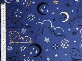 Jersey mit Sonne, Mond, Sterne und Wolken