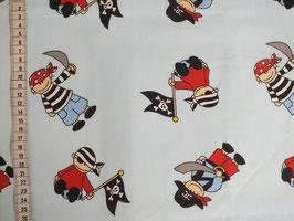 Kinderstoff mit Piraten