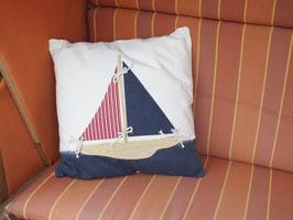 Maritimes Kissen 45x45 cm