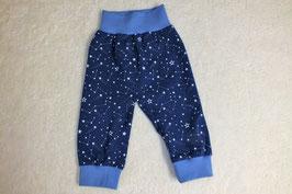 Jersey-Pumphose marine-blau