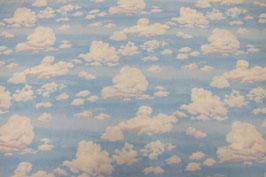 Patchworkstoff Wolken
