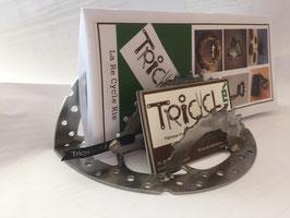 Porte lettres en disque de frein