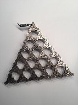 Dessous de plat triangle de chaine