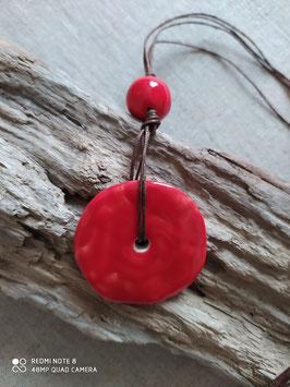 Collier Bahia rouge