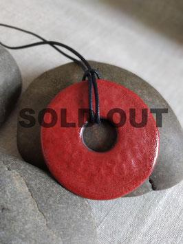 Sautoir Kananga rouge