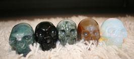 Edelsteen Skulls/ schedels