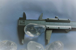 Bergkristal trommelstenen XL