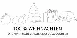100 % Weihnachten