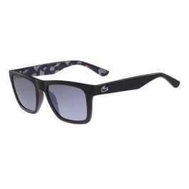 LACOSTE Occhiali da Sole Unisex Uomo Donna Mod. L797S Lenti UV Colore Nero + Custodia Originale