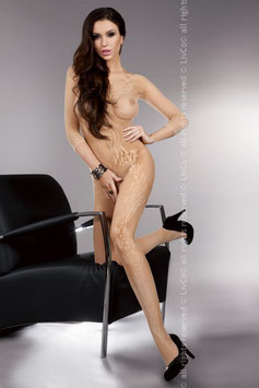 LivCo Corsetti Fashion - Khryseis Beige Bodystocking