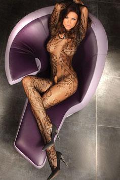 LivCo Corsetti Abra Bodystocking Ricamata |LC-17086|