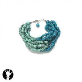 BRACCIALETTO Donna 20 cm Blu e Azzurro |141022B|