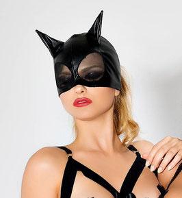 ME SEDUCE Maschera Viso con Orecchie Da Gatta Felina CatWoman in Vinile |MS-MK01|