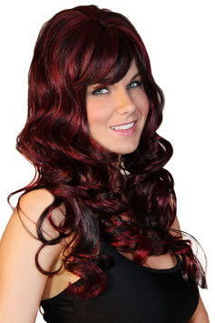 Parrucca Dark Wine Red Godness Lolita Luxury Wig |LC0197|