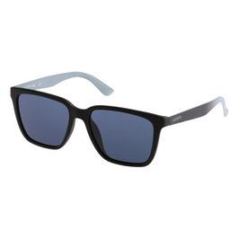 LACOSTE Occhiali da Sole Uomo Mod. L795S Lenti UV Colore Nero + Custodia Originale