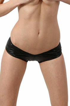SPAZM Mini Shorts Hot Pants WetLook Metallici Neri Argento Viola Oro |S1|