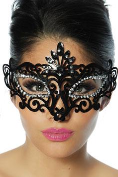 Maschera Venezia Style Nera con Strass |12731|