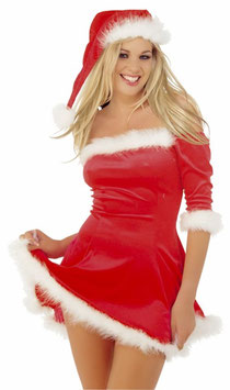 CLASSIFIED Vestito e Cappello Babba Natale |GW2280|