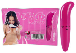 YOU2TOYS G Mate Classic G-Spot Mini Vibratore Rosa |0578070|