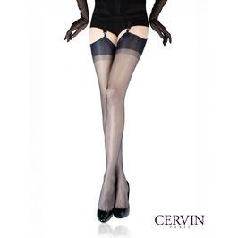 CERVIN Paris - Calze di Nylon Velate Vintage RHT Capri 15 Denari Senza Cuciture