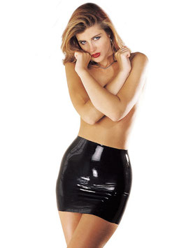 SHARON SLOANE Minigonna Nera in Latex |SS-1908|