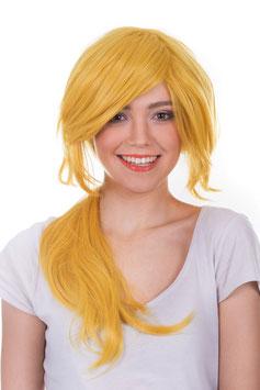 AMAZING GIRL Parrucca Shishiou Cosplay Anime Manga Capelli Lunghi Mossi Biondi |AG-PER098|