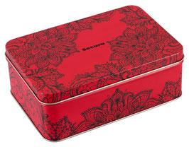 SECURA KONDOME Offerta Stock 50 Profilattici Premium Classici Trasparenti in Scatola di Metallo |414255|