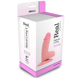 TOYZ4LOVERS Dildo Fallo Realistico Real Rapture Flesh 15 cm con Ventosa |00700678|
