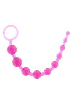 TOYJOY Set Pleasure Pearls Balls Cordina Anale 10 Palline del Piacere |3006009258|