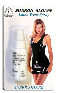 SHARON SLOANE Spray per Pulizia e Lucidatura Vestiti in Latex |SS-1729|