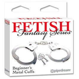 PIPEDREAM Fetish Metal Cuffs Manette dell' Amore in Metallo Nikel Free |PD3800-00|