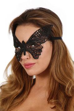 SOISBELLE Maschera per Occhi Venezia Style Nera in Pizzo Ricamato a Forma di Farfalla |2324201|