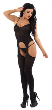 CLASSIFIED Catsuit Bodystocking Opaco |GW788|