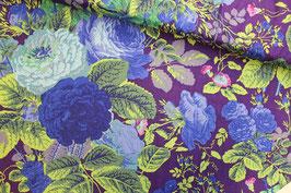 *Reststück 85cm* Baumwollstoff Gradi Flora Rowan Fabrics
