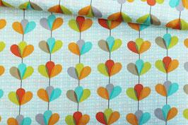 Baumwollstoff Petal Garland Michael Miller Fabrics