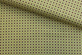 Baumwollstoff Newcastle Fabrics grüne Punkte