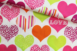 Baumwollstoff Love Michael Miller Fabrics