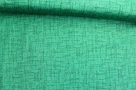 Baumwollstoff Quilting Treasures grün gestrichelt