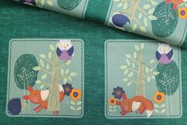 Baumwollstoff fox and friends Adlico Textile
