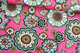 Baumwollstoff Robert Kaufmann Modern Bliss pink