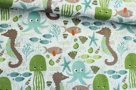 Baumwollstoff Wilmington Prints Ocean bunt