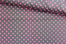 Baumwollstoff Michael Miller Neo Dot pink