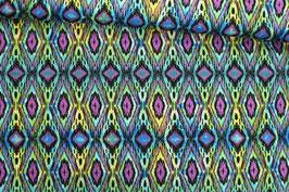 *Reststück 80cm* Baumwollstoff Michael Miller Casis blau