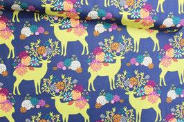 Baumwollstoff Michael Miller Rustique Tees, Deer