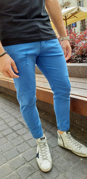 JEANS AZZURRO DESTROYED