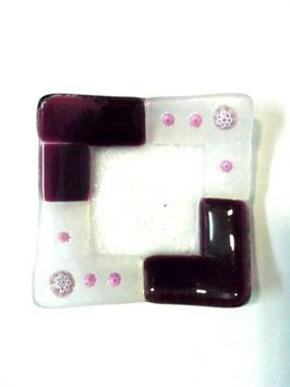 ベネチアンガラス飾皿A  TORCELLO S      AA3179 Purple