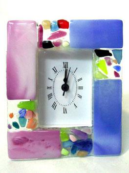 ベネチアンガラス置時計 RIALTO M    AA3338 Blue