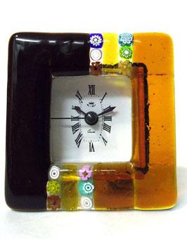 ベネチアンガラス置時計 CASANOVA S    AA3222   Orange